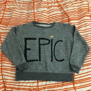 """EPIC"" pullover sweatshirt"